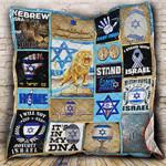 I Love Israel Blanket KC1207 Quilt