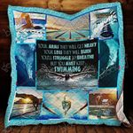 Keep Swimming Blanket KC1207 Quilt