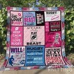 Rugby 3 Blanket TH1307 Quilt