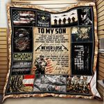 To My Son U.S. Army Blanket KC1207 Quilt