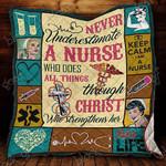 Nurse Blanket KC1207 Quilt