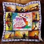 Yoga Heals The Soul Blanket KC1207 Quilt