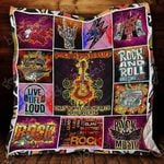 Rock And Roll Will Save Your Soul Blanket KC1207 Quilt