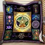 Wiccan Blanket KC1207 Quilt