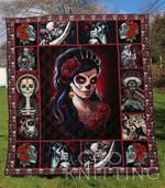 Skull 5 Blanket TH1307 Quilt