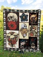 Skull 6 Blanket TH1307 Quilt