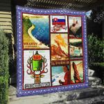 Slovakia Blanket TH1307 Quilt