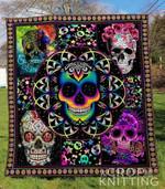 Skull 25 Blanket TH1307 Quilt