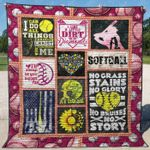 Softball 6 Blanket TH1307 Quilt