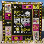 Softball 4 Blanket TH1307 Quilt