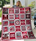 Alabama Crimson Tide Ver1 Blanket TH1507 Quilt
