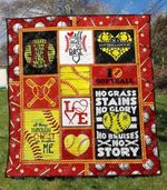 Softball 8 Blanket TH1307 Quilt