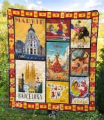 Spain 2 Blanket TH1307 Quilt
