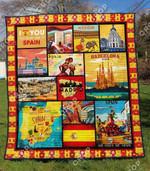 Spain 1 Blanket TH1307 Quilt