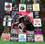 Black Jeep Blanket TH1507 Quilt