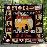 Baseball Blanket TH1507 Quilt