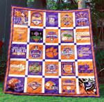 Clemson Tigers Blanket TH1507 Quilt