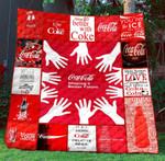 Coca Cola Blanket TH1507 Quilt