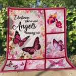 Butterfly Angles Blanket TH1507 Quilt