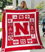 Nebraska Cornhuskers Ver1 Blanket TH1507 Quilt