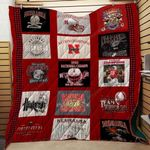 Nebraska Cornhuskers Ver3 Blanket TH1507 Quilt