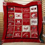 Nebraska Cornhuskers Ver4 Blanket TH1507 Quilt