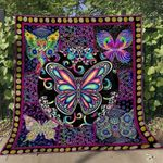 Butterfly Ver8 Blanket TH1507 Quilt