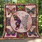 Butterfly Ver6 Blanket TH1507 Quilt