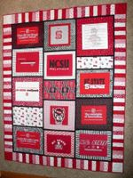 NC State Wolfpack Ver3 Blanket TH1507 Quilt