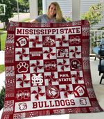 Mississippi State Bulldogs Ver4 Blanket TH1507 Quilt