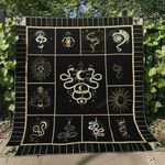 Mystic Snake Blanket TH1507 Quilt