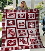 Mississippi State Bulldogs Ver2 Blanket TH1507 Quilt