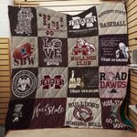 Mississippi State Bulldogs Ver3 Blanket TH1507 Quilt