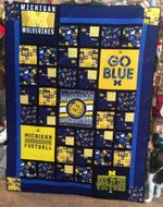 Michigan Wolverines Ver2 Blanket TH1507 Quilt