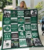 Michigan State Spartans Blanket TH1507 Quilt