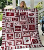 Mississippi State Bulldogs Ver5 Blanket TH1507 Quilt