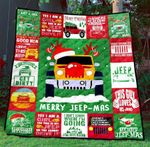 Merry Jeep Mas Blanket TH1507 Quilt