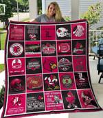 Louisville Cardinals Blanket TH1507 Quilt