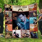 Johny Cash Blanket TH1507 Quilt
