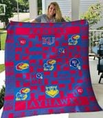 Kansas Jayhawks Ver2 Blanket TH1507 Quilt