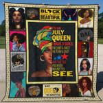 July Black Women Ver1 Blanket TH1507 Quilt