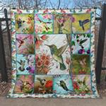 Hummingbird Ver2 Blanket TH1507 Quilt