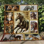Horse Ver3 Blanket TH1507 Quilt