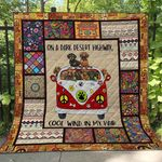 Hippie Dog Blanket TH1507 Quilt