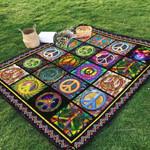 Hippie Ver4 Blanket TH1507 Quilt