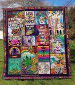 Hippie Ver1 Blanket TH1507 Quilt