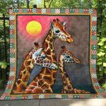 Giraffes Blanket TH1507 Quilt