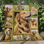 Golden Retriever Blanket TH1507 Quilt