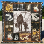 Guitar Ver2 Blanket TH1507 Quilt