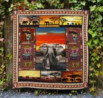 Elephant Ver7 Blanket TH1507 Quilt